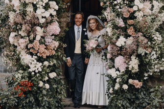 Princess Beatrice and Edoardo Mapelli Mozzi wed on Friday in an intimate ceremony in Windsor.