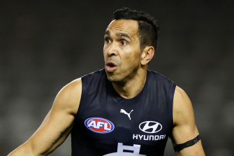 Eddie Betts has dealt with constanct racial abuse during his AFL career, which has had a huge toll on him.