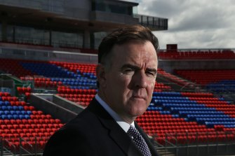 Newcastle Jets CEO Lawrie McKinna made the decision to fire Ernie Merrick himself and will select his replacement.