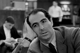 Philip Roth at Princeton University in 1964.