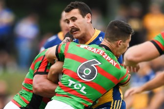 Reagan Campbell-Gillard says he has a new lease on life since joining Parramatta.