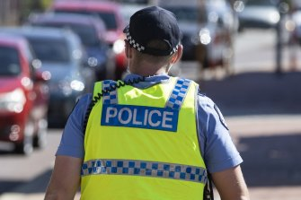 WA police officers arrested a 51-year-old woman on a disability pension in a case of mistaken identity.