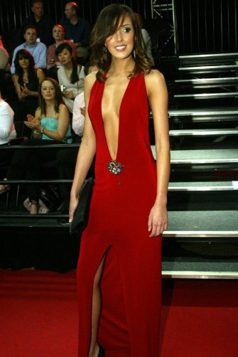 2004: Rebecca Judd (nee Twigley) in the dress that changed everything.
