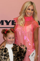 Roxy Jacenko and her daughter Pixie Curtis in August.