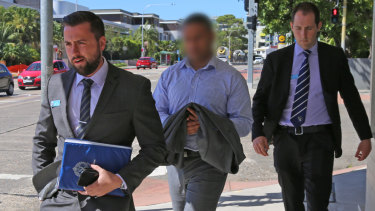 Police arrested a man in Dee Why on Friday morning.