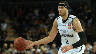 Josh Boone, back with Melbourne United and ready to defend title.