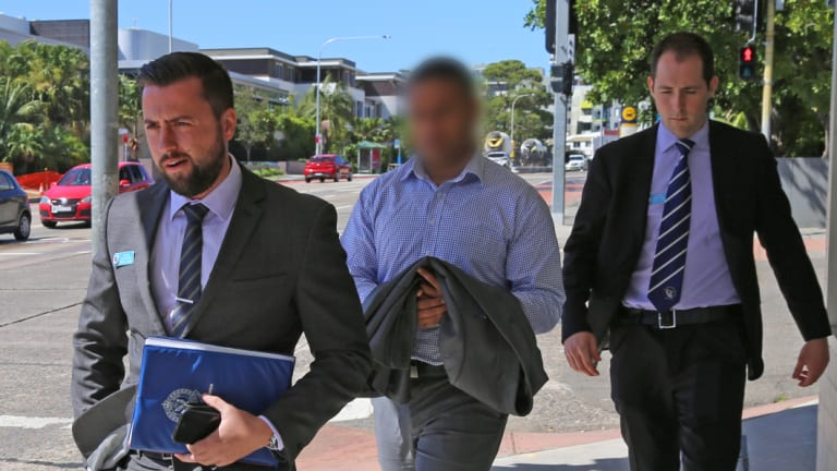 Police arrested Isaac Teu in Dee Why on Friday morning.