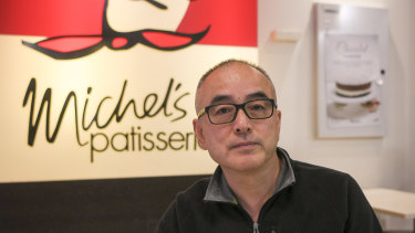 Former Michel's Patisserie franchisee Wayne Hong lost a fortune.
