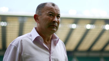 Spooky: Eddie Jones has admitted to spying earlier in his career but insists it's no longer necessary.