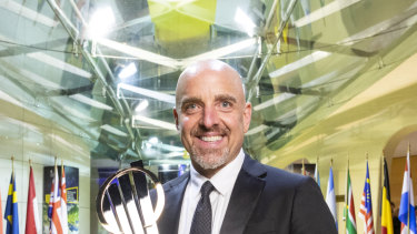 Brad Keywell, founder of Uptake Technologies and winner of the EY World Entrepreneur of the Year.