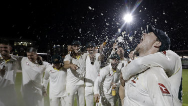 Australia's cricket recovery more than win deep