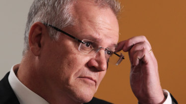 """The new economy shouldn't be some sort of a tax-free environment"" Treasurer Scott Morrison said in March."