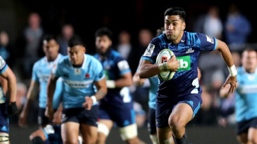 The Waratahs won't be lining up against Blues winger Rieko Ioane this weekend.