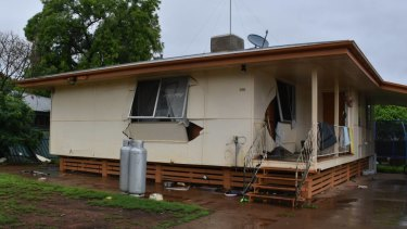 Nobody was seriously injured when the explosion blew out the kitchen.