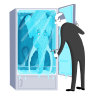 Frozen moments – does one turn a fridge up or down to make it colder?