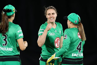 The Stars held the Scorchers to 125-8 from their 20 overs before climbing to the target with seven wickets to spare.