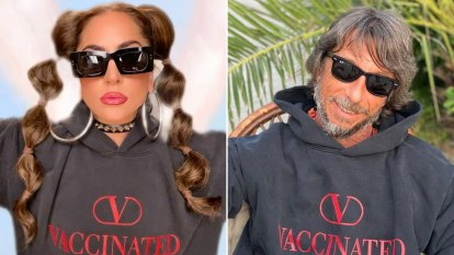 Getting vaxxed is not a fashion statement