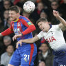 Tottenham bundled out of FA Cup in 2-0 loss to Crystal Palace