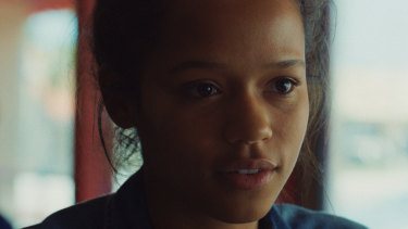 Taylor Russell in Waves