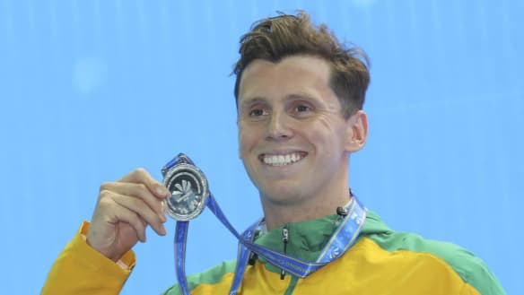 Short-course silver for Fraser-Holmes