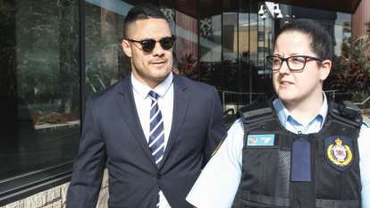 Jarryd Hayne served with fresh sexual assault charge in court