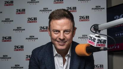 2GB's Ben Fordham dives in radio ratings