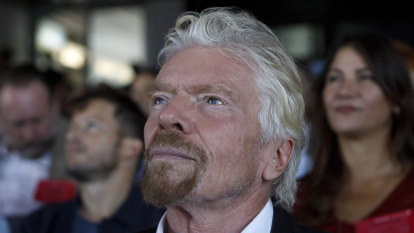 Branson weighs selling more Virgin Galactic shares to save his empire