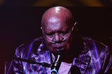Archie Roach performs via video link at the 2020 ARIA Awards.