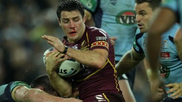 Bloodied and bruised, Cooper Cronk would clinch the series in game three.