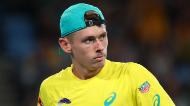 Alex de Minaur will make his return to the ATP Tour on Tuesday.