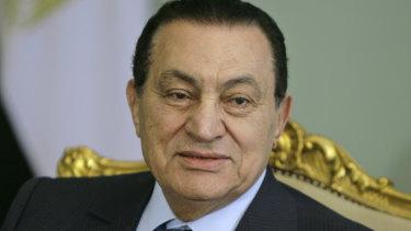 The former Egyptian president Hosni Mubarak has died.