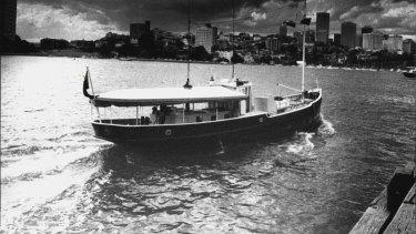 The Krait, difoto pada tahun 1983.