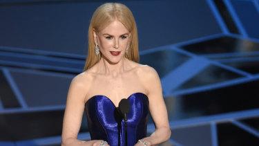 Nicole Kidman is to play former Fox News presenter Gretchen Carlson.