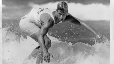 Occhilupo in 1985, the year after he topped the ASP rankings aged just 17.