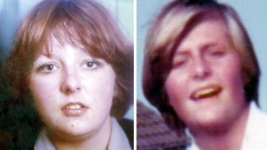 Lothian and Borders Police file handout photos of Christine Eadie (left) and Helen Scott, who were murdered by serial killer and rapist Angus Sinclair in 1977.