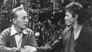 David Bowie and Bing Crosby made an unlikely pairing in Little Drummer Boy.