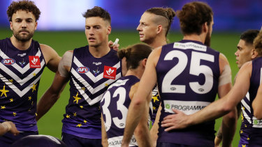 Fremantle failed in every department as the Cats purred to life in the wet at Optus Stadium.
