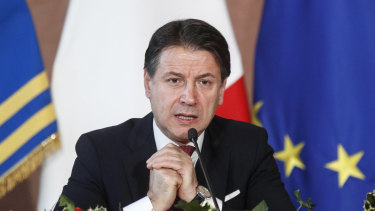 Italian Prime Minister Giuseppe Conte was given a hero's welcome upon returning to Rome after the EU deal was struck.