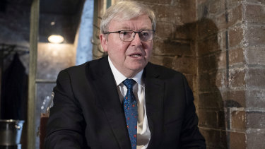 Former prime minister Kevin Rudd has welcomed the investigation into Crown casino.