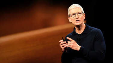 Tim Cook has Apple on track to become the first $US1 tirllion company.