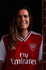 Lydia Williams is the latest of three Australians to sign for Arsenal.