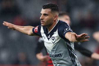 Melbourne Victory's Andrew Nabbout had been looking to make a fresh start with Perth Glory.