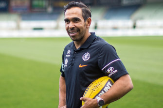 Veteran Eddie Betts will be back at Carlton next year.