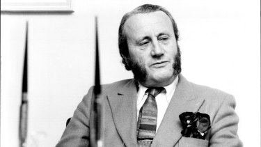 Dr. Earle Hackett, the acting chairman of the ABC in June, 1976.