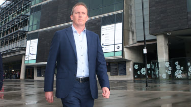 In to bat: Cricket Australia CEO Kevin Roberts is eager to mend bridges with the powerful BCCI.