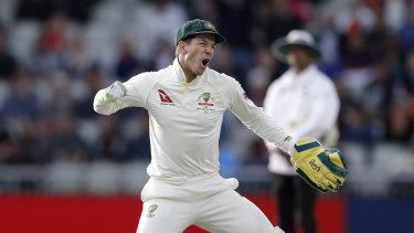 No rush: Tim Paine has not set an end date on his career.
