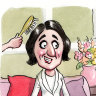 Gladys tries to 'magsimise' her appeal by going glossy