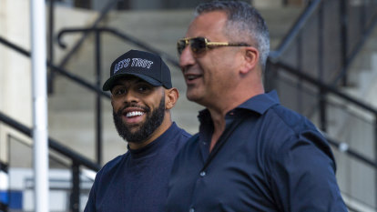 Bulldogs roll out the blue and white carpet for Josh Addo-Carr