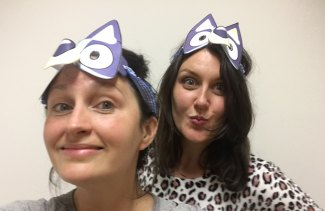 Mary Bolling and Kate McMahon are superfans of kids' TV show Bluey