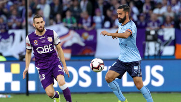 The A-League grand final could be televised on Network Ten.